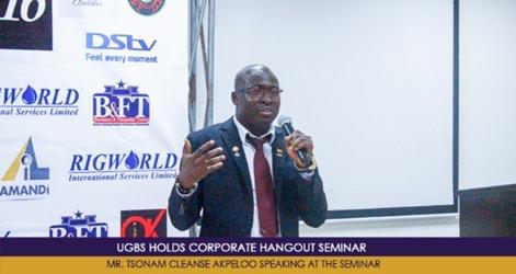UGBS Holds Corporate Hangout Seminar | University of Ghana Business