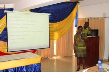 thesis on supply chain management in ghana