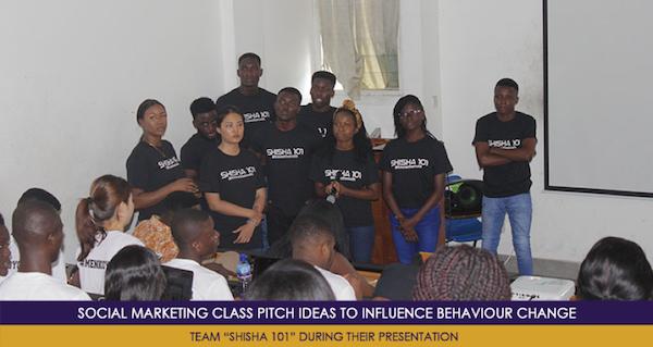 Social Marketing Class Pitch Ideas to Influence Behaviour